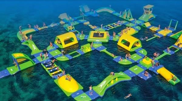 Mở cửa tổ hợp khu vui chơi dưới nước Cô Tô Park