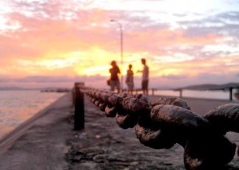 Ngắm cảnh thanh bình tại đảo Cô Tô